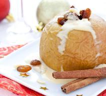 Pieczone jabłka w sosie waniliowym - przepis Ewy Wachowicz