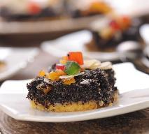 Ciasto makowe z cukrem pudrem + WIDEO