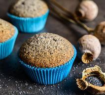 Muffinki z makiem: pieguski