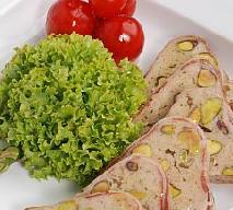 Pasztet z królika z pistacjami