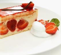 Tort z truskawkami: przepis