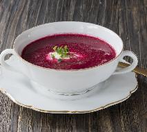 Zupa krem z buraków i malin: nowy pomysł na Wigilię