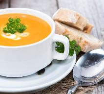 Zupa z dyni z mleczkiem kokosowym i białym winem