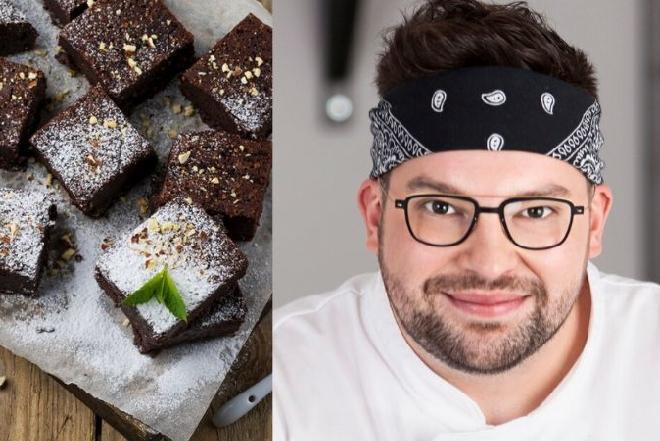 Szymon Czerwiński poleca brownie na jesienne smutki: zobacz przepis na czekoladowe ciasto