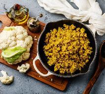 Kalafiorowy ryż z kurkumą na jesienne wzmocnienie