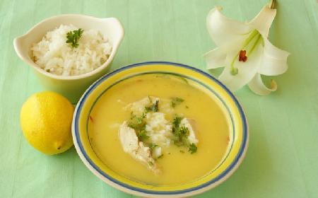 Zupa cytrynowa z kurczakiem i ryżem - przepis Ewy Wachowicz