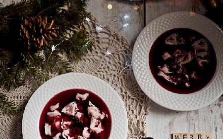 Barszcz wigilijny - przepis na Boże Narodzenie