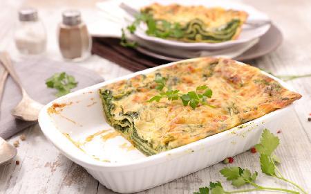 Jak zrobić lasagne ze szpinakiem?