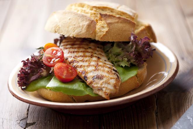 Domowy kebab z kurczaka czyli obiad po turecku